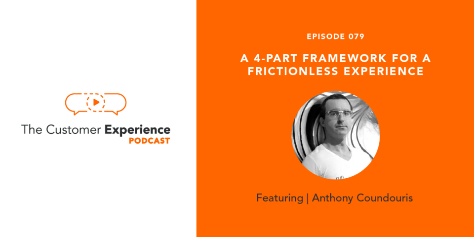 Anthony Coundouris, run_frictionless, frictionless experience, customer experience