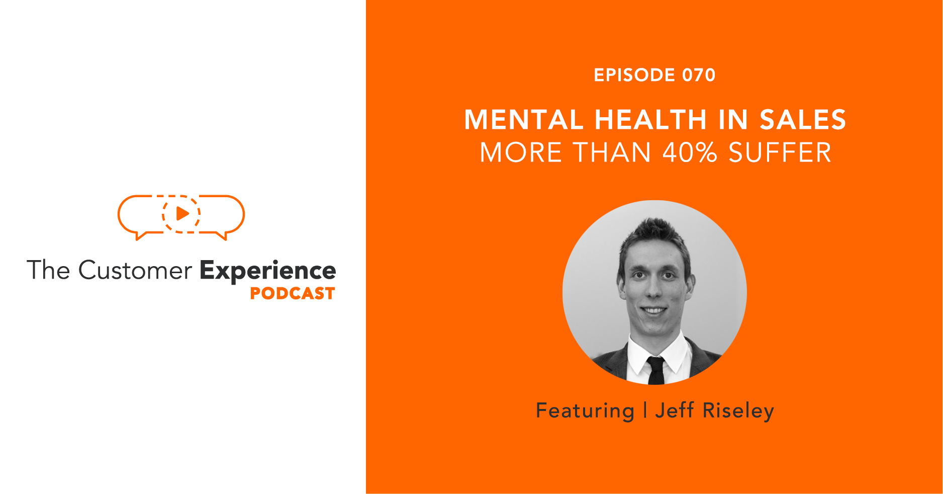 Jeff Riseley, Sales Health Alliance, mental health in sales
